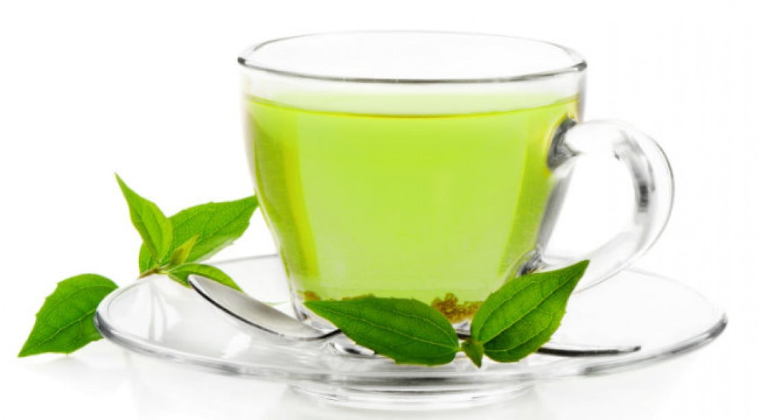 what to add to hot green tea